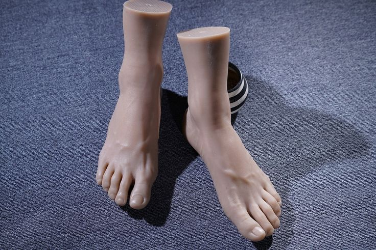 103.70$  Buy here - http://alihyi.worldwells.pw/go.php?t=32726362255 - New 44 Size silicone Male feet mold Foot Fetish Foot worship foot sex toys silicone feet For Women Model: 4401 DHL free shipping