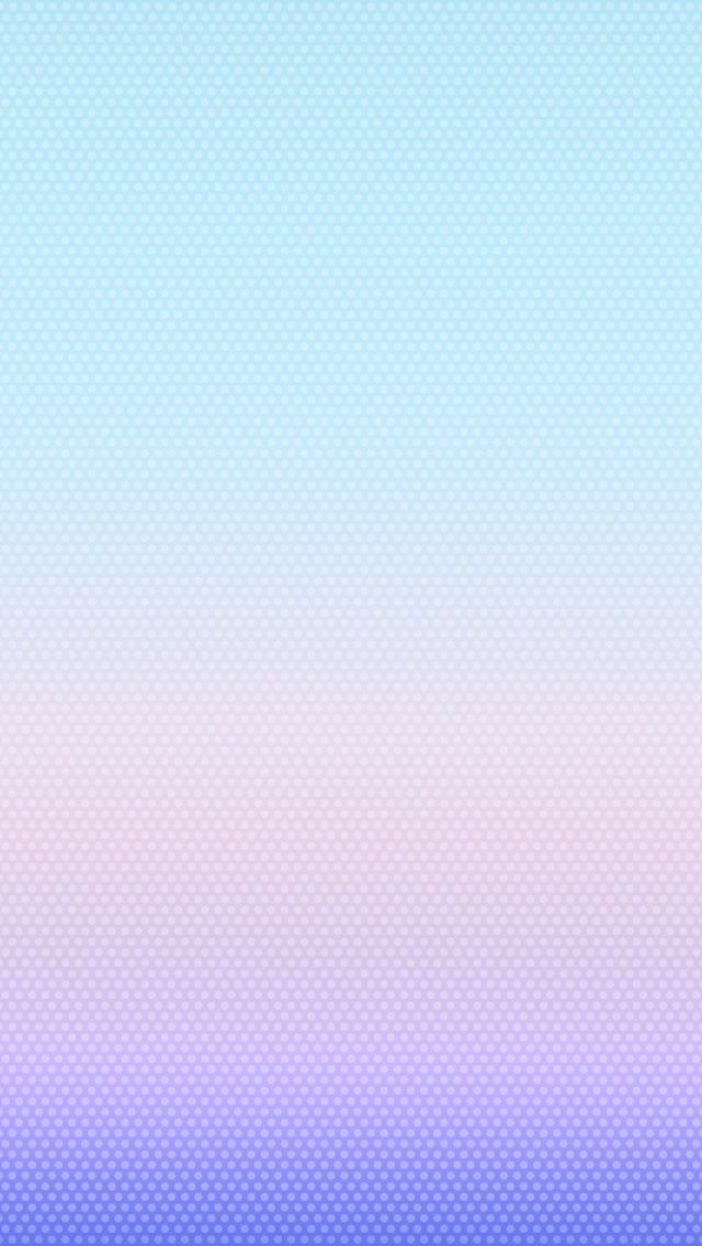 iOS 7 Pink Dots Wallpaper