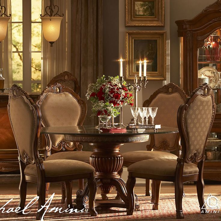 Pub Dining Room Sets Dining Set Chicago Cortina By Aico Beautiful Dining Rooms Round