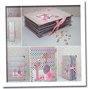 Tuto Mini Album réalisé avec des enveloppes par Aur0re.