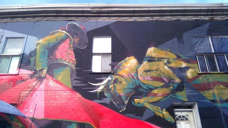 Street Art dans le quartier de Mile End