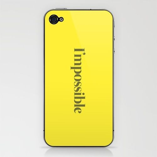 I'mpossible - what a cool theme idea!: Products Avail, Posts, I Mposs, Themed Idea, Phones, Yerd Inspirationhumor