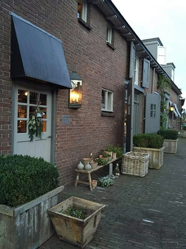 De Stamkamer in Lienden, met prachtige buxus