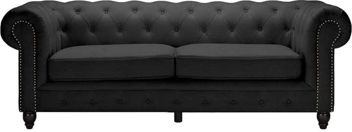 Design Studios Cassandra Chesterfield 3-Seater Sofa#ad