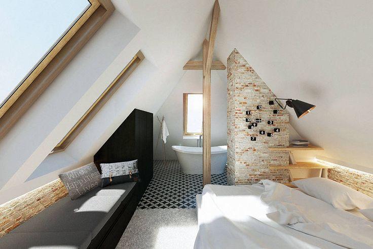 7 Fantásticos quartos mansarda e de teto inclinado  (De Ida Gaspar - homify )