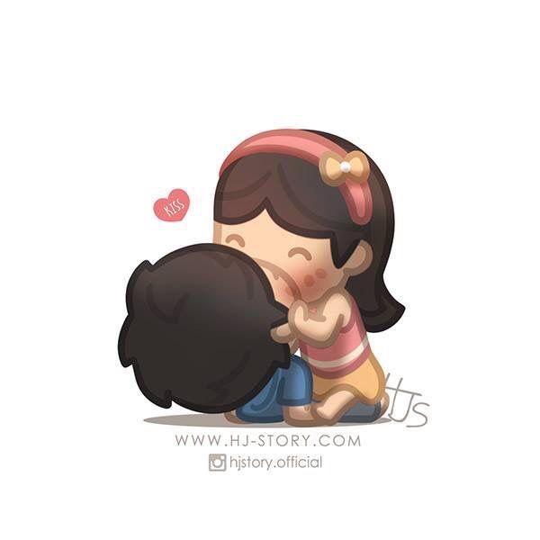 El amor es... un beso