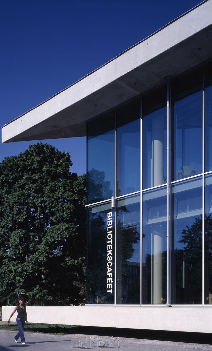 Halmstad Library, Halmstad, Sweden (schmidt / hammer / lassen, 2002)