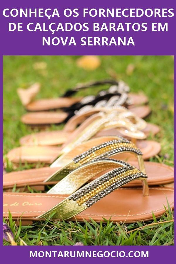 5fed5d84f Descubra como comprar calçados no atacado em Nova Serrana. Tem muita gente  comprando para revender com ótimo preço