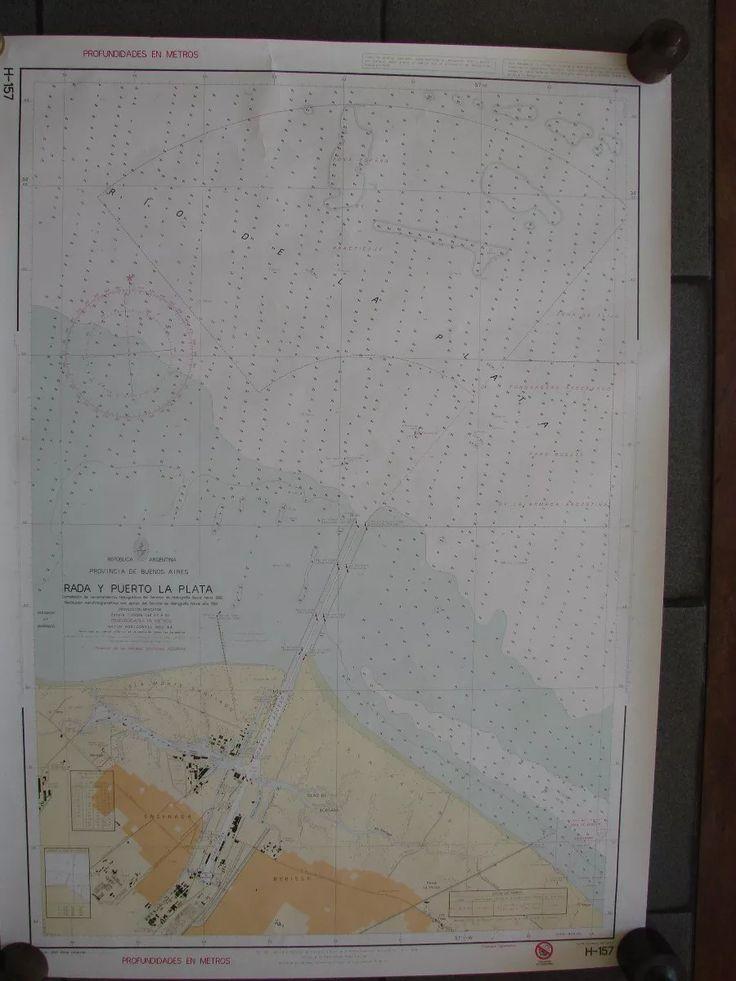 388pe carta nautica h 157 papel hidrografia naval