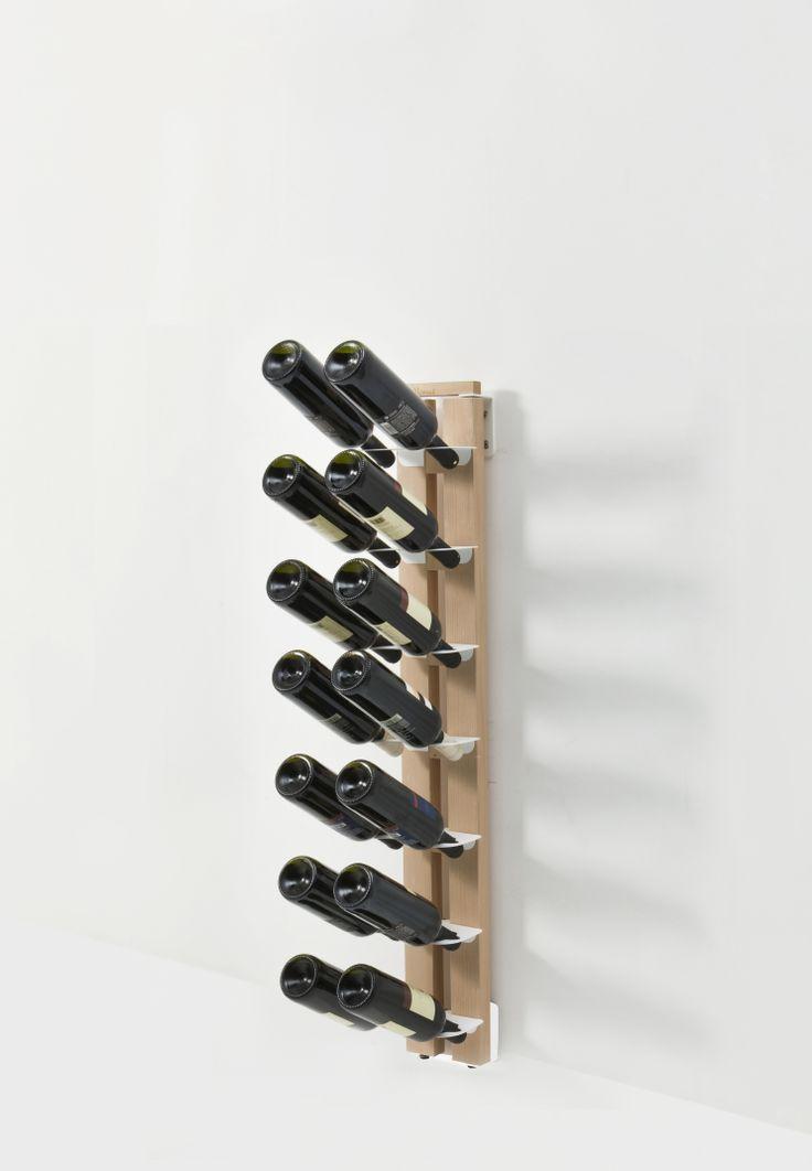 17 best Portabottiglie in legno images on Pinterest Wine cellars - mur porteur en brique