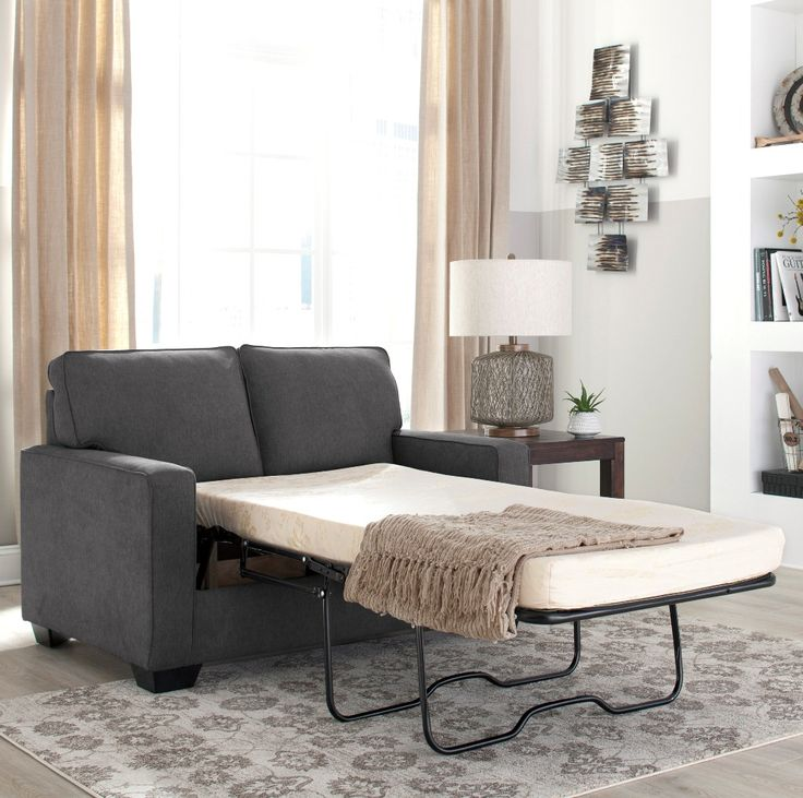 Shelby Queen Memory Foam Sofa Bed only $1299 including tax & free local delivery! #sofa #palluccifurniture  https://www.palluccifurniture.ca/shelby-queen-sofa-bed-grey-fabric/