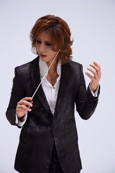 Yoshiki. Not only is he the drummer, pianist and principal songwriter for x Japan, he is also an in demand classical composer. He wrote the theme for last year's golden globes awards.