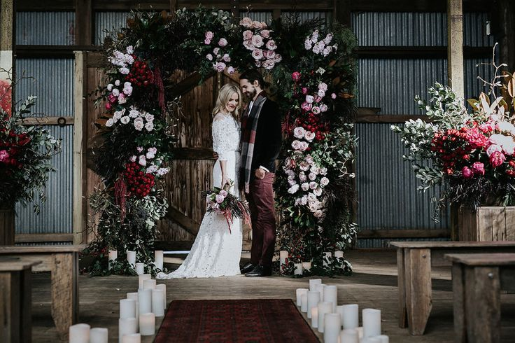 Explore the idea of having your winter wedding set at Waldara Farm in  Oberon, NSW, where the scenery is magical.