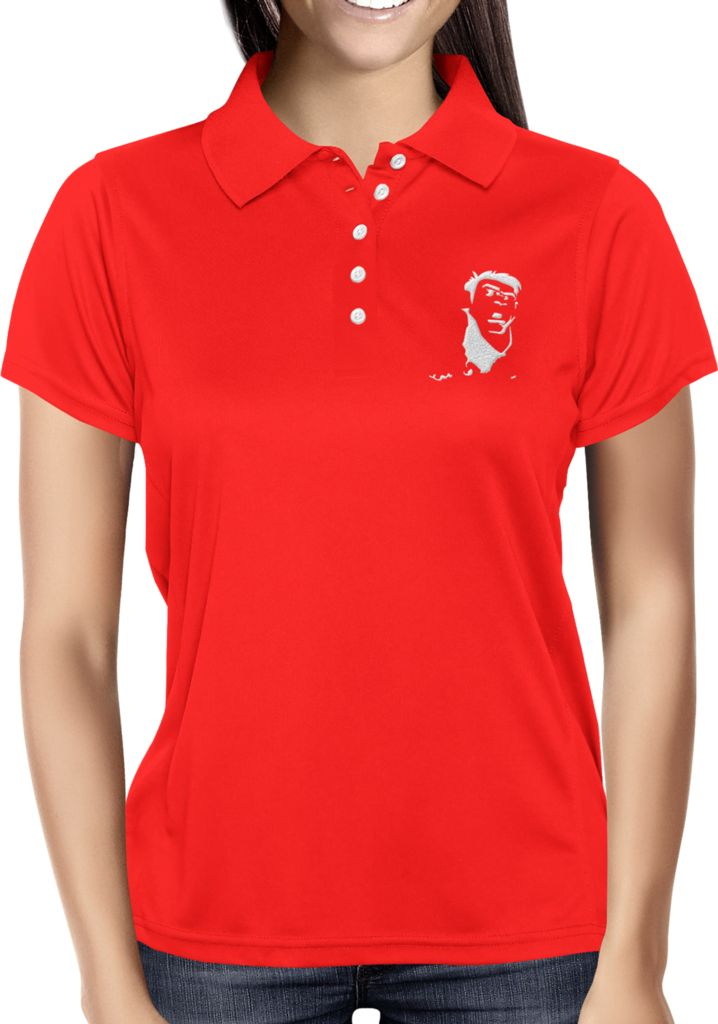 Red Blank - Dhaporshankh Girls Polos