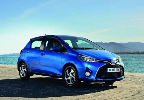 2015 Toyota Yaris Front Angular 600x418 2015 Toyota Yaris Full Review with Images