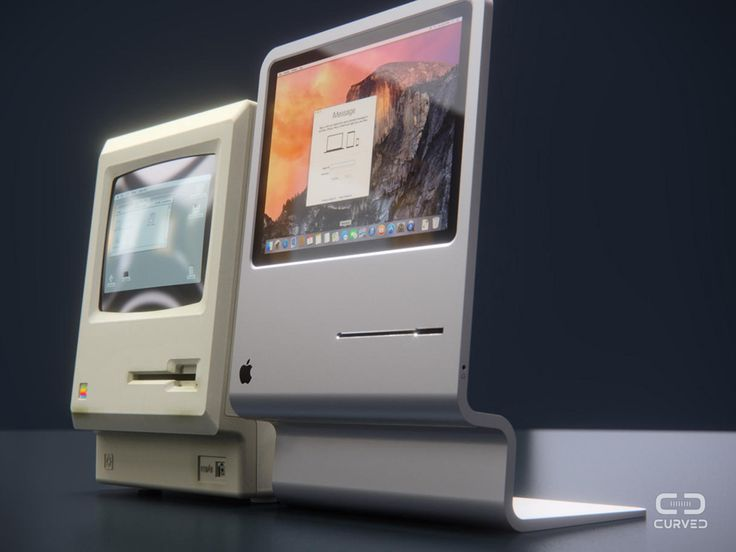 A Slick Macintosh Design, Inspired by the Very First Mac of All Time