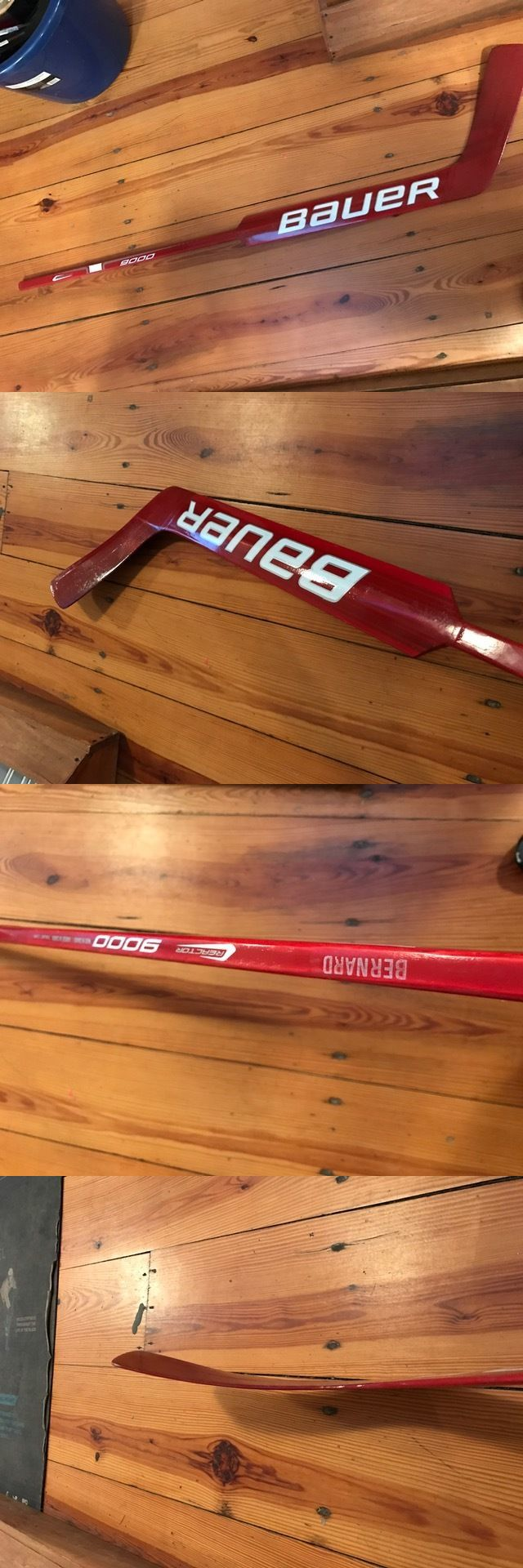 Face Masks 79762: Ncaa Return Bauer Reactor 9000 Ice Hockey Goalie Goaltender Stick Sacred Heart -> BUY IT NOW ONLY: $75 on eBay!