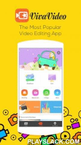 VivaVideo: Free Video Editor  Android App - playslack.com ,  Powered by Top Developer in Google Play Store, VivaVideo is one of the best video editor & slideshow maker apps in Android market. It has over 150 million users all over the world so far and has been featured in Google Play many times, ranked as No.1 free video editor & video maker app in 70+ countries. With VivaVideo, you can easily create your video story and share with your friends & family, transforming everyday…