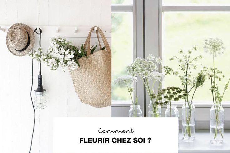 10 Astuces pour Fleurit (simplement) son intérieur ? / How to arrange flowers around your home // Hëllø Blogzine www.hello-hello.fr