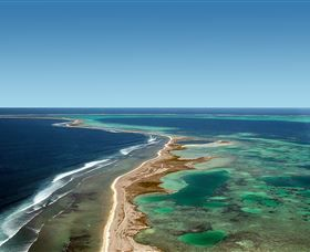 122 islands surrounded by coral communities teeming with marine life, the Abrolhos Islands are one of Western Australia's unique marine environments - a snorkelling, windsurfing and bird watching paradise that's also ranked among the world's top fishing spots.  Formerly known as Houtman Abrolhos, these Indian Ocean jewels sit just 60 kilometres west of Geraldton, making them an easily accessible must-do day trip. Scoot across the water by charter boat, fishing or eco tour from Geraldton or…