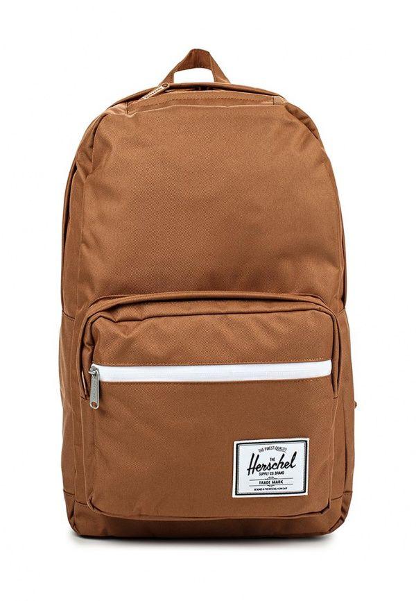 Рюкзак Herschel Supply Co POP QUIZ Рюкзак Herschel Supply Co. Цвет: коричневый. Материал: полиэстер. Сезон: Осень-зима 2016/2017. Спорт и отдых/Рюкзаки