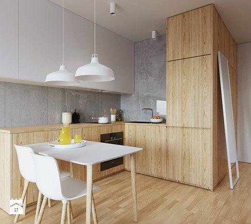 Kuchnia styl Skandynawski - zdjęcie od 081architekci