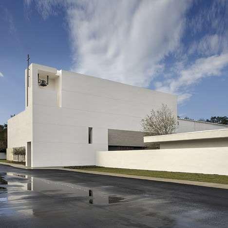 Modern Architecture Tampa modern minimalist prayer palaces   churches, architects and church