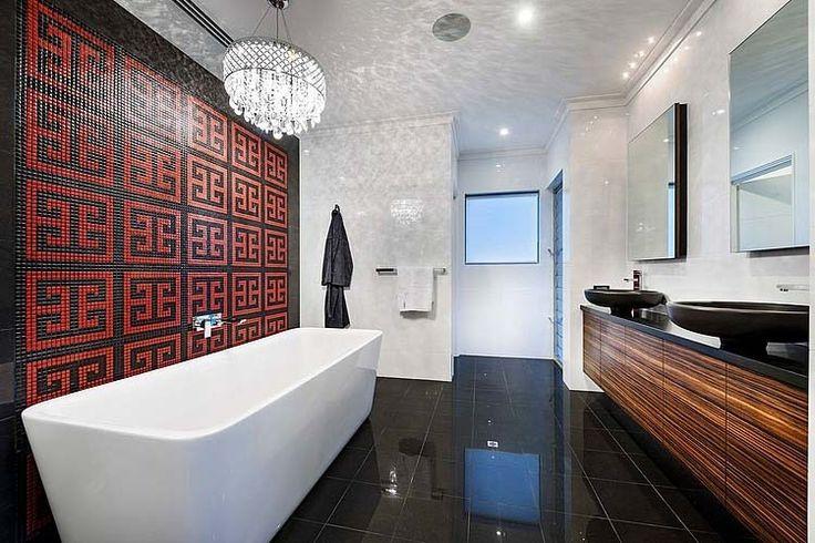 elegant and chic bathroom