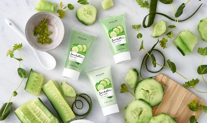 Hudpleie og agurk – hva er egentlig greia? | Oriflame Cosmetics