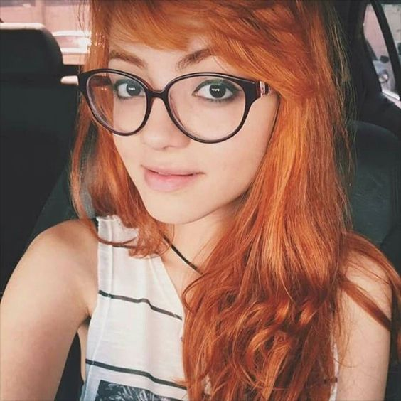 Busty red heads with glasses-3849