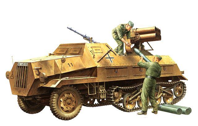 Opel Maultier panzerwerfer 42