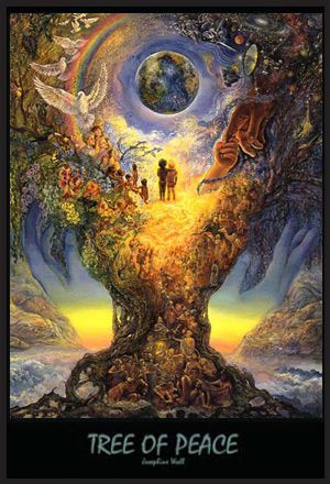 Josephine Wall Art Poster Print Tree Peace | Art, Fantasy ...