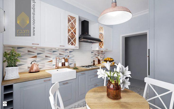 Kuchnia styl Vintage - zdjęcie od ROOM STUDIO - Kuchnia - Styl Vintage - ROOM STUDIO