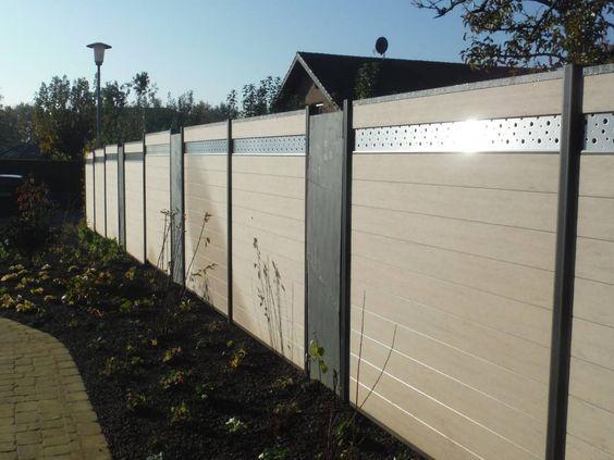 Wpc Fences In Uae Hot Sale Decorative Wood Plastic Fence