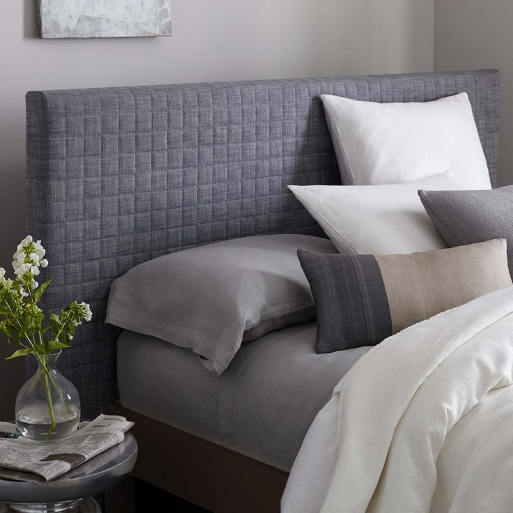 Modern Furniture Home Decor Home Accessories West Elm best 25+ quilted headboard ideas on pinterest | soft grey bedroom