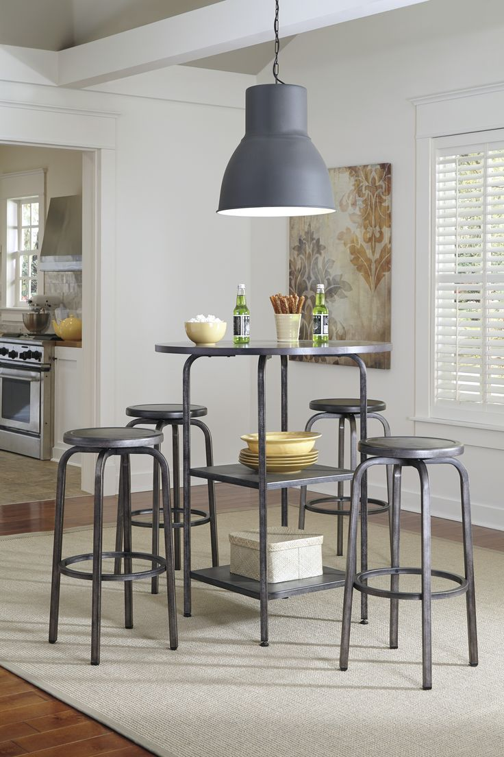 Montana Dining Set SKU Featuring A Tubular Metal Table Top And Base The Upper Room Home Furnishings Ottawas Premier Furniture Store