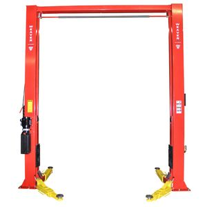 """W-10C ********************************************** The W-10C Weaver® Lift is a Full Featured 10,000-Lb. Capacity 2-post lift with Super-Symmetric arms, single point safety release and dual direct-drive cylinders.  Oversized carriages (59"""") spread the load out across the W-10C's tall one piece column to reduce the overall load on the lift. ********************************************** LEARN MORE AT…"""