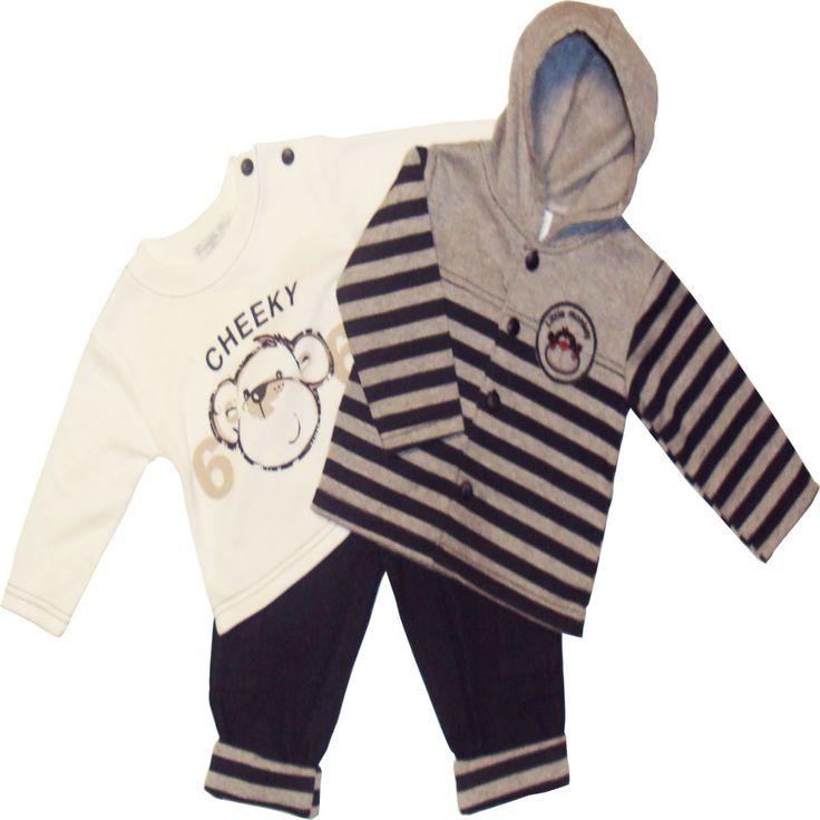 Poikavauvan setti, takki-paita-farkut http://www.vauvan-vaatteet.fi/poikavauvan-talvisetti-takki-paita-housut