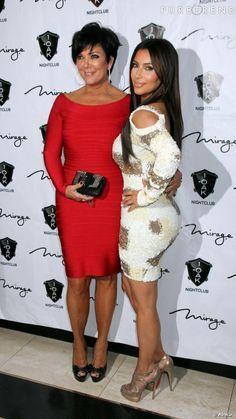 Kris Jenner & Kim K                                                                                                                                                                                 More