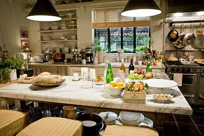 Loved this kitchen when I saw it in the movie...Cinema Style: Nancy Meyers