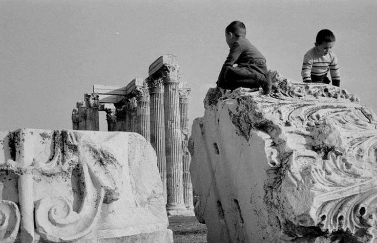 Rene Burri Ελλάδα Αθήνα 1957