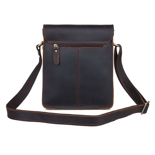 Men-039-s-Rustic-Genuine-Leather-Messenger-Shoulder-Bag-Small-Cross-Body-Satchel-New