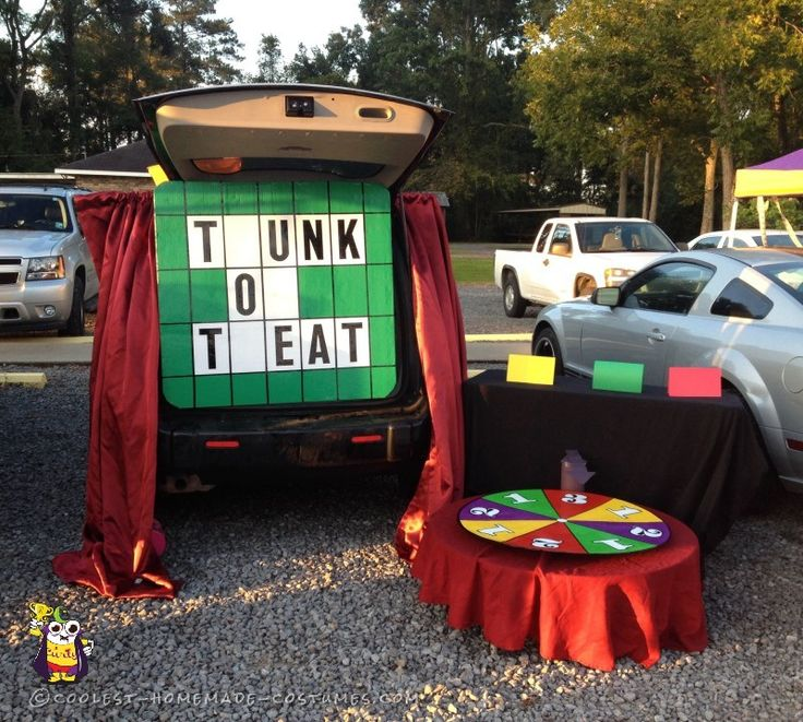 coolest wheel of fortune costume - Car Decorations For Halloween