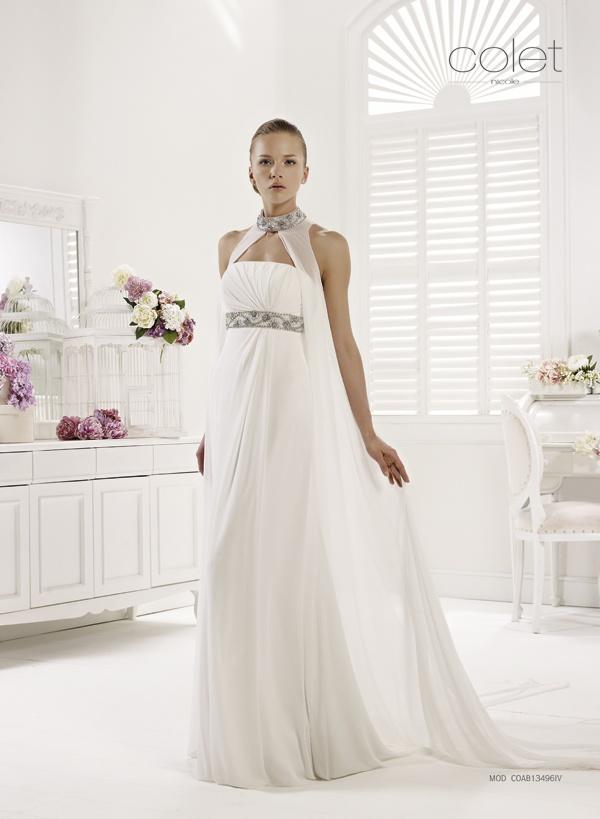 Collezione abiti da sposa #Colet 2013, abito da #sposa COAB13496IV