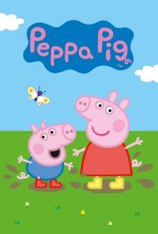 Peppa Pig. La serie preferida de los pequeños de la casa. Entre Peppa y George.... Serie de TV