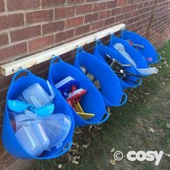 BIG BLUE STORAGE TRUGS (6PK) - Cosy Direct