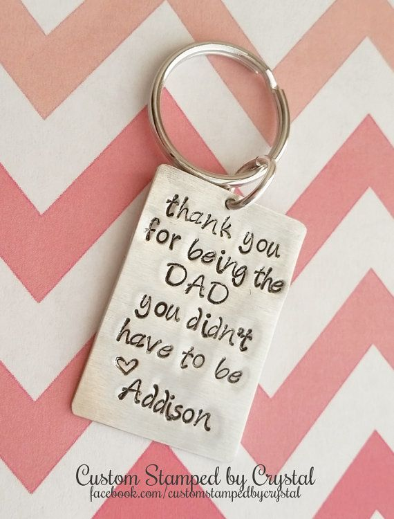 The Dad You Didnt Have to Be Step-Dad/Step-Mom Dad/Mom Keychain | Divorce  and the Holidays | Dads, Fathers day, Father - The Dad You Didnt Have To Be Step-Dad/Step-Mom Dad/Mom Keychain