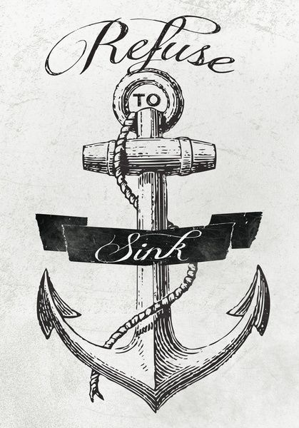 I love anything with anchors on it!