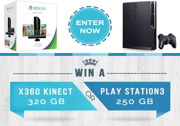 Hey there, I just entered to Win a Win a X360 or Play Station 3! Enter now for your chance!