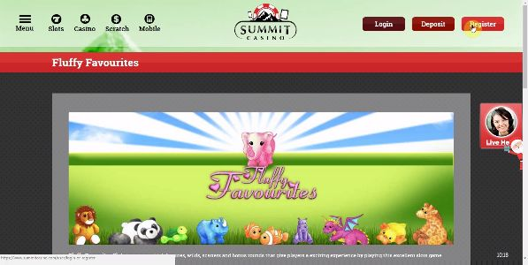 Join Summit Casino today and get a completely free Fluffy Favourites No Deposit bonus to enjoy spinning the reels with t the best Online Casino site now. Enjoy the fun and excitement of Fluffy Favourites today and spin the reels to see just what your luck could bring - https://www.summitcasino.com/slots-games-reviews/fluffy-favourites All new registering players at the site get given a totally free £10 No Deposit Casino bonus to welcome you to the site, and that's a great way to be welcomed…